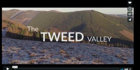 Videodroni. La Tweed Valley (Scozia) vista dal drone