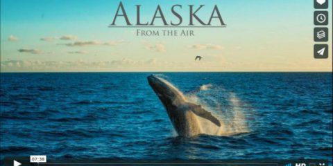 Videodroni. L'Alaska vista dal drone