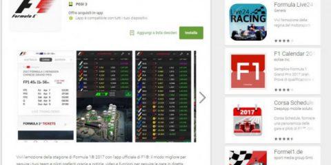 App4Italy. La recensione del giorno, Official F1 App