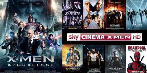 Sky cinema X-Men HD,  arriva il primo canale dedicato interamente ai supereroi Marvel