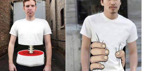 Effetti ottici: Galeotta fu la T-Shirt
