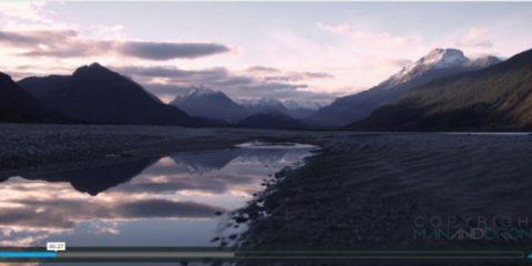 Super Videodroni. Le catene alpine del sud della Nuova Zelanda viste dal drone