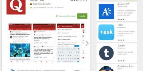 App4Italy. La recensione del giorno, Quora