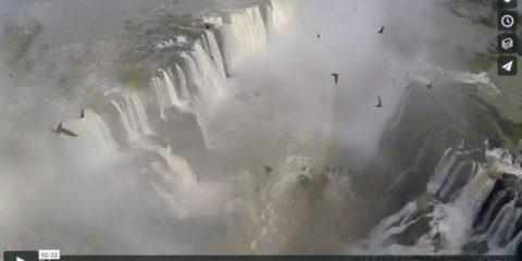 Videodroni. Le cascate di Iguazu viste dal drone