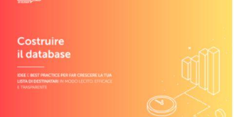 MailUp annuncia la nuova edizione dell'ebook 'Costruire il database'