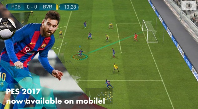 Pro Evolution Soccer 2017 Mobile annunciato per iOS e Android