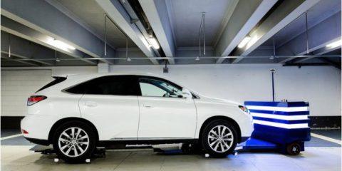 Stan, il robot che ti parcheggia l'automobile in aeroporto e centro commerciale (Video)