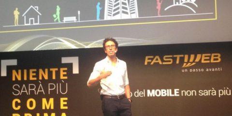 Fastweb irrompe nel mobile. Via costi aggiuntivi, prezzi dimezzati per i clienti del fisso