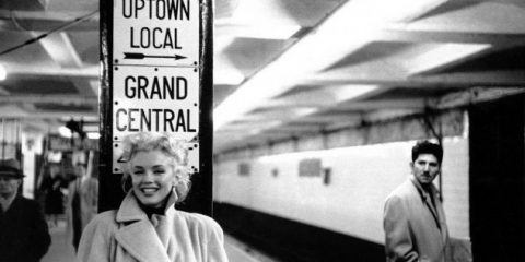 Bella da morire: Marilyn Monroe in metropolitana a New York (1961)