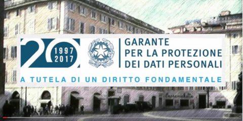 Un video per celebrare i 20 anni di privacy in Italia