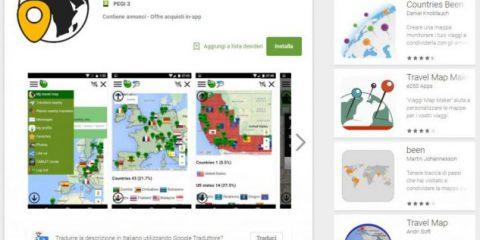 App4Italy. La recensione del giorno, My Travel Map