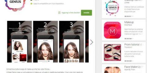 App4Italy. La recensione del giorno, Makeup Genius