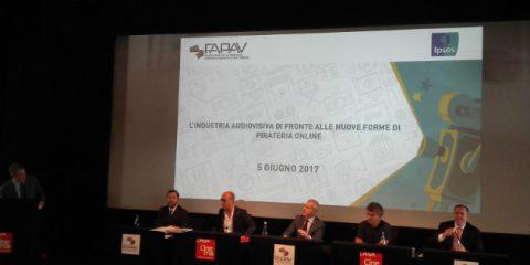 Pirateria audiovisiva. Indagine FAPAV/Ipsos, in Italia danni economici per 1,2 miliardi nel 2016