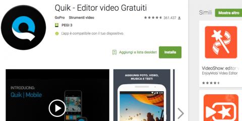 App4Italy. La recensione del giorno, Quik
