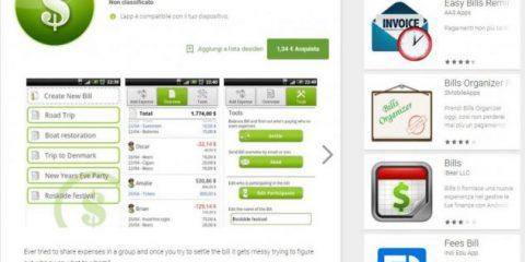 App4Italy. La recensione del giorno, Bill Buddy (Share expenses)