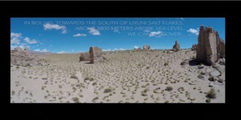 Videodroni. La Valle de las Rocas (Bolivia) vista dal drone