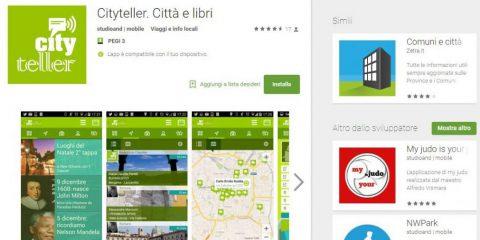 App4Italy. La recensione del giorno, Cityteller