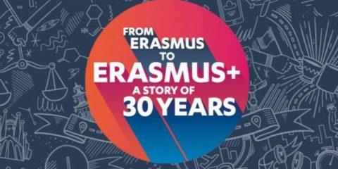 L'Erasmus compie 30 anni e festeggia con la nuova app