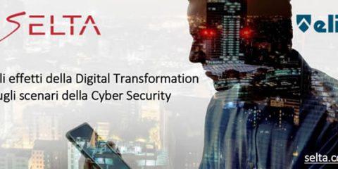 Cybersecurity, gli effetti della Digital Transformation. Il convegno di SELTA a Roma il 4 luglio