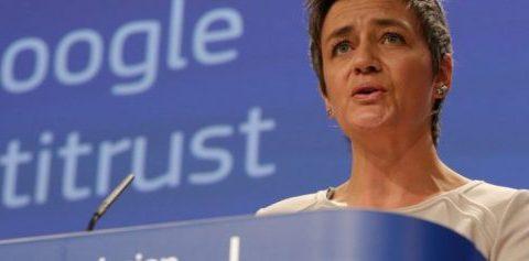 La Commissione Ue 'dichiara guerra' a Google, maximulta da 2,42 miliardi