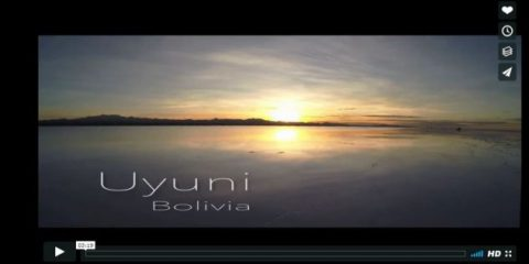 Videodroni. Il Salar de Uyuni (Bolivia) visto dal drone