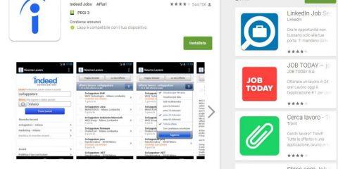 App4Italy. La recensione del giorno, Indeed Lavoro
