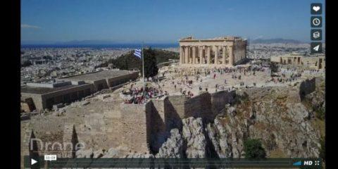 Videodroni. La magica Grecia vista dal drone