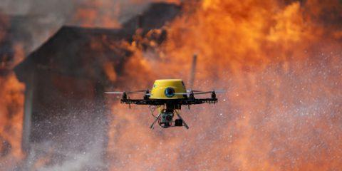 Incendi, più facile combattere il fuoco con il satellite e l'Internet delle cose