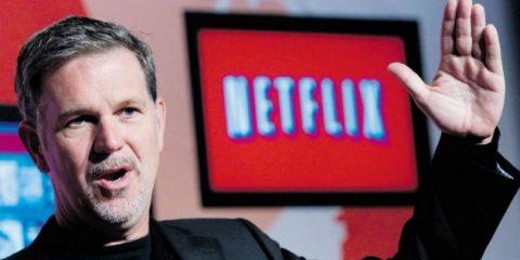 Contenuti originali, Netflix investirà 8 miliardi di dollari (1 miliardo in Europa) nel 2018