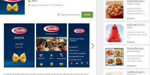 App4Italy. La recensione del giorno, iPasta Barilla