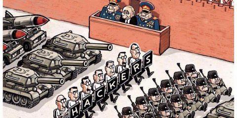 Battaglie cyber: le nuove truppe non hanno bisogno di proiettili…