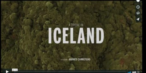 Videodrone. Voglia di fresco: l'Islanda vista dal drone