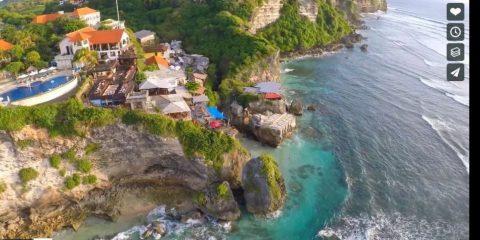 Videodroni. Voglia di mare: Surfing ad Uluwatu (Indonesia) visto dal drone