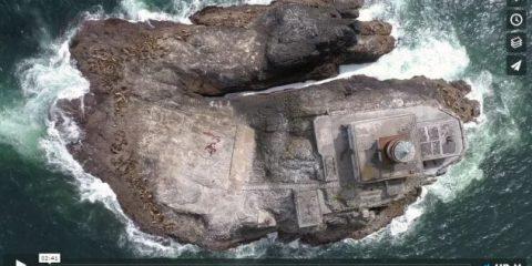 Videodroni. La costa dell'Oregon vista dal drone