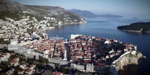 Videodroni. Dubrovnik (Croazia) vista dal drone