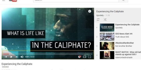 Youtube pronta a deviare le ricerche di video di propaganda pro Isis
