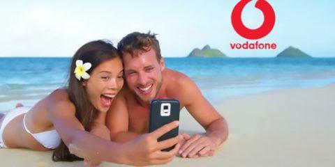 Giga vacanza, 40 GB in regalo ai clienti migliori di Vodafone