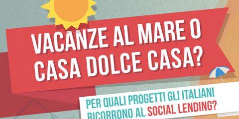 Per quali progetti gli italiani ricorrono al social lending?