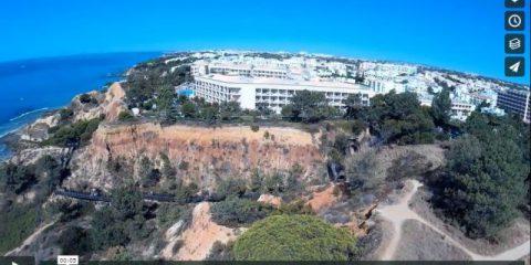Videodroni. Portogallo: la costa atlantica vista dal drone