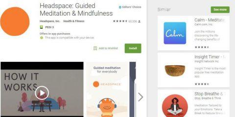 App4Italy. La recensione del giorno, Headspace