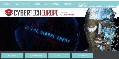 Accenture innovation partner del Cybertech Europe di Roma