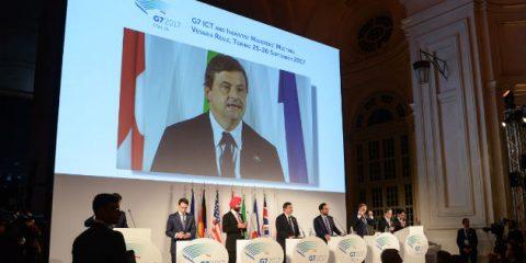 G7 Industria, puntare su cyber sicurezza e intelligenza artificiale per la crescita 4.0