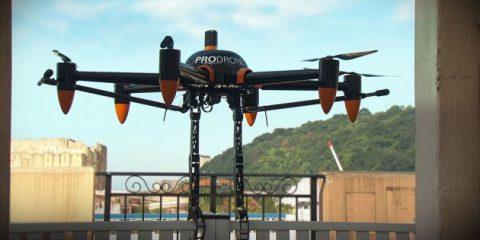 Prodrone, ecco il drone con le braccia (Video)