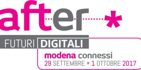 After – Futuri Digitali, festival dell'innovazione a Modena dal 29 settembre al 1° ottobre