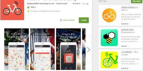 App4Italy. La recensione del giorno, Mobike