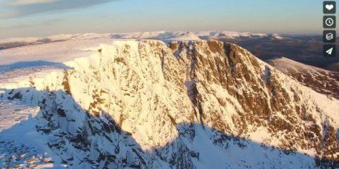 Videodroni. Il Cairngorms National Park (Scozia) visto dal drone