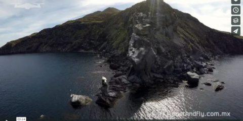 Videodroni. La Loreto Bay (California) vista dal drone