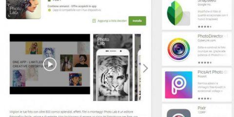 App4Italy. La recensione del giorno, Photo Lab