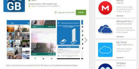 App4Italy. La recensione del giorno, Degoo Cloud Drive