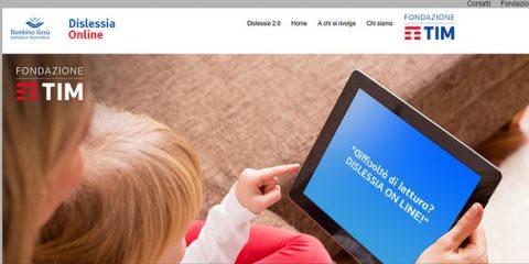 Fondazione TIM, domani il lancio della piattaforma 'Dislessia 2.0'